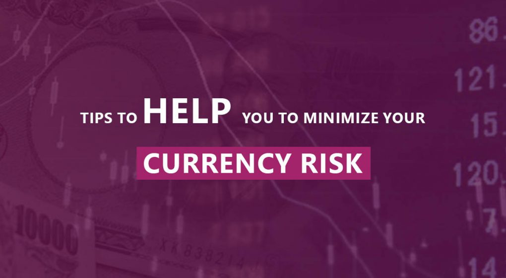 Tips To Help You To Minimize Your Currency Risk